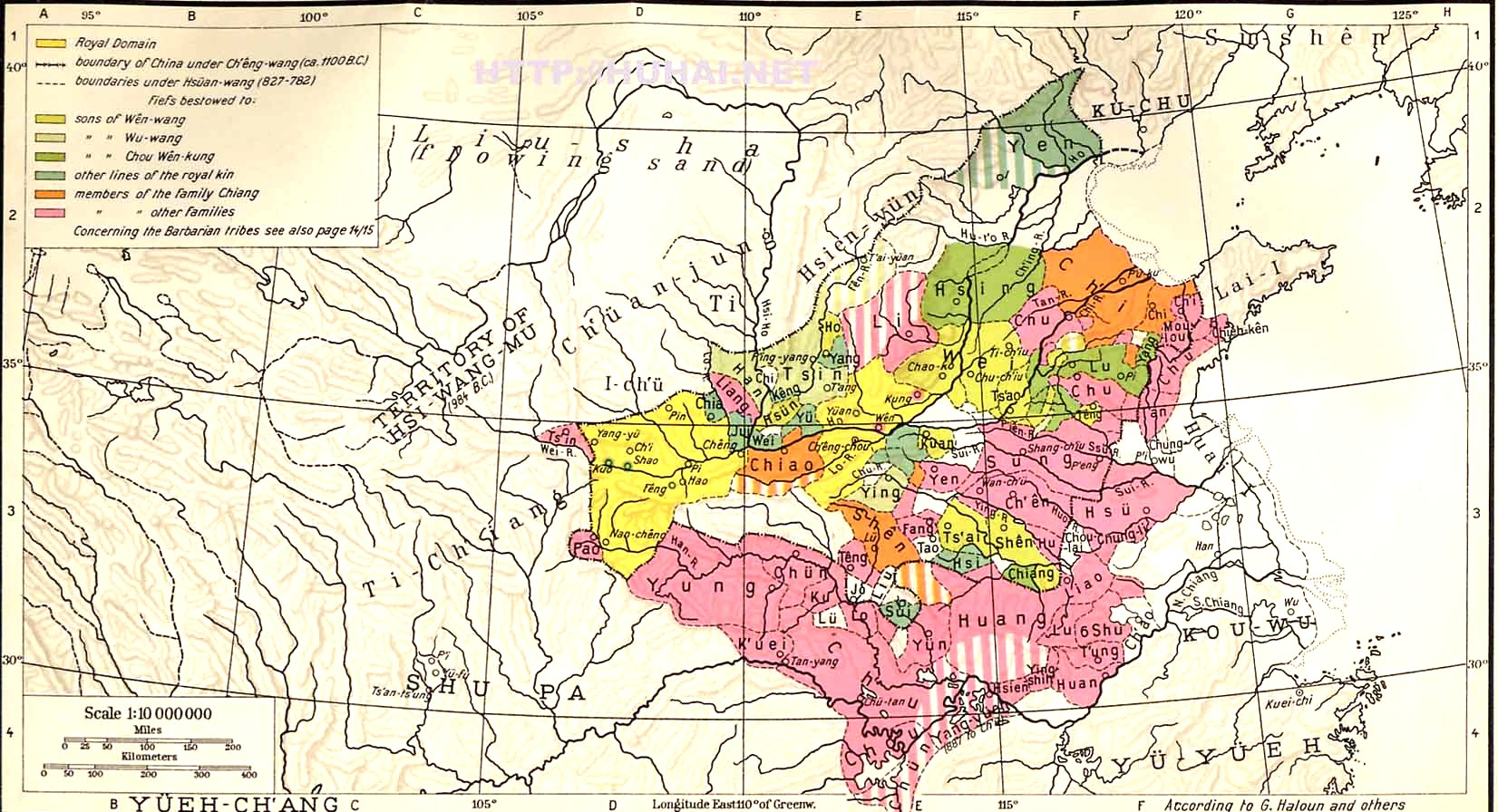 Maps of early easternlate western zhou china historum and a link to a larger copy sciox Gallery